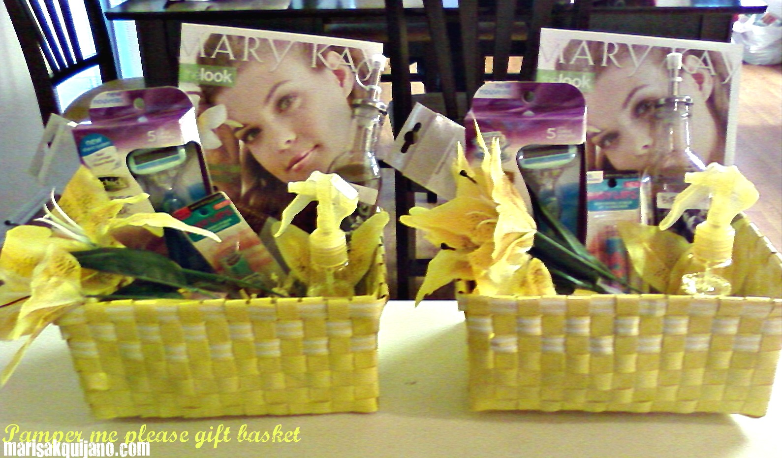 Pamper me please gift baskets mothers day marisa quijano here negle Gallery