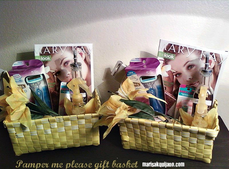 Pamper me please gift baskets mothers day marisa quijano here are some other mothers day baskets i made negle Gallery
